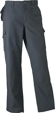 Russell Athletic New Russell Collection Heavy Duty Workwear Trousers Mens Work Trouser Pant32r
