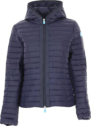 Save The Duck Jacket for Women On Sale, Midnight Blue, polyester, 2017, 1 (S - 40/42)