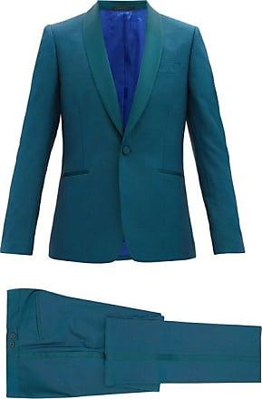 Paul Smith Single-breasted Shawl-lapel Soho-fit Tuxedo - Mens - Green