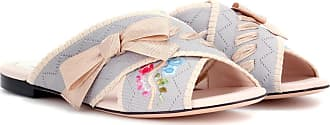 Fendi Jersey slip-on sandals