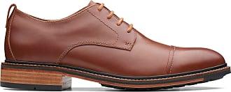 Bostonian Mens Dark Tan Leather Bostonian Costigan Cap Size 7.5