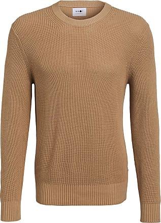 Nn.07 Pullover KNUT - HELLBRAUN