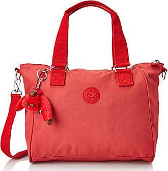 70bba9fe9 Kipling Amiel, Bolso bandolera para Mujer, Rojo, 27x24.5x14.5 cm