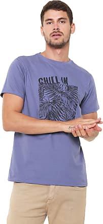 Yachtsman Camiseta Yachtsman Manga Curta Estampada Azul