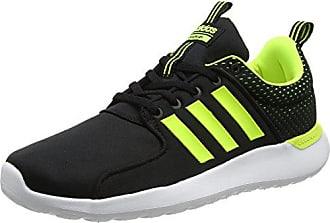 sale retailer 0bec8 8b1cf adidas Herren CF Lite Racer Laufschuhe Schwarz (Core Blacksolar  YellowFootwear White