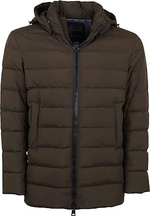Herno Fashion Man PI119UL111067400 Green Polyamide Down Jacket | Fall Winter 20