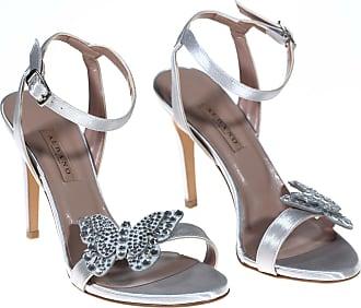 Albano sandalo tacco, 36 / argento