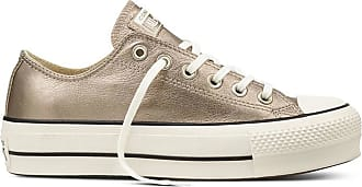 Converse ALL STAR LIFT OX METALLIC LEATHER DONNA 0c1f45541c5