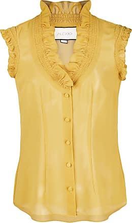 Alexis Blusa com babado - Amarelo