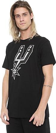 NBA Camiseta NBA San Antonio Spurs Preta