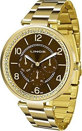 4f1dcabcb5 Lince Relógio Lince Feminino Ref  Lmgj068l M2kx Multifunção Dourado