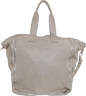 Alexander Wang gebraucht - Alexander Wang-Beigefarbene Tasche mit Zipper-Details - Damen - Leder