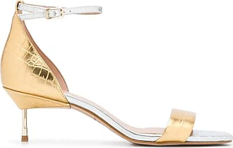 Kurt Geiger metallic open-toe sandals - GOLD