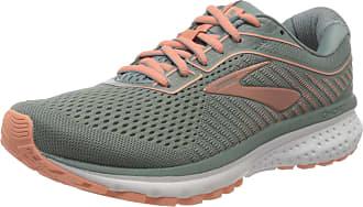 Brooks Womens Ghost 12 Running Shoes, Lead/Grey/Desert, 4.5 UK (37.5 EU)