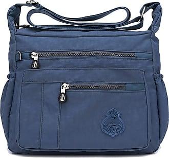 GFM Nylon Water Resistant Cross Body Bag (88)(921-TLNL)