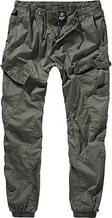 Brandit Ray Vintage Trouser - Herr-Cargo-byxor - oliv