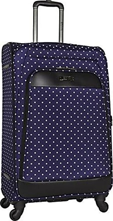 Kenneth Cole Reaction Kenneth Cole Reaction Dot Matrix 28 Lightweight Expandable 4-Wheel Spinner Checked Luggage, Navy/White Polka