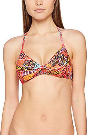 Diva costume da bagno tg 34,36,38,42,44 Soft Cup-B D Nuovo Donna Nero-Arancione Animal
