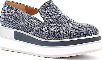 Generico Portofino Slip-on Shoes with Wedge, Made in Italy - Blue Blue Size: 6 UK