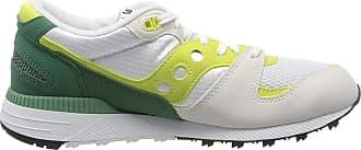 Saucony Mens Azura Low-Top Sneakers, Green (Blanco Y Verde 16), 8 UK