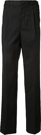 Kent & Curwen elasticated waist chinos - Black