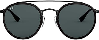 Ray-Ban Unisexs Rb 3647N Sunglasses, Black, 51