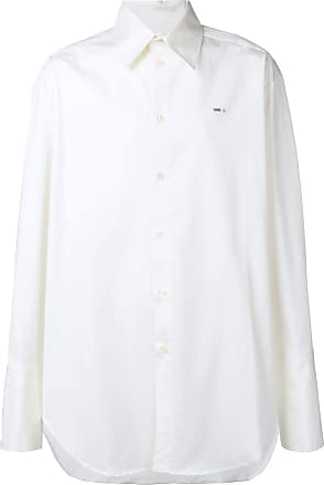 Yang Li Camisa com logo bordado - Branco