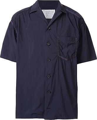 Kolor ruched detail shirt - Blue