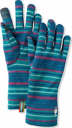Smartwool Merino 250 Pattern Glove Guanti Unisex | blu/turchese