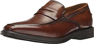 3028e4845ac Florsheim Mens Holtyn Comfortech Slip On Penny Dress Shoe Loafer Cognac 9.5  D US