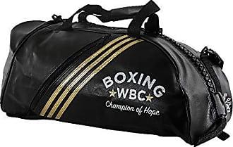 adidas Bolsa Mochila Adidas Training 2in1 Bag WBC Preto/Dourado 50 Litros