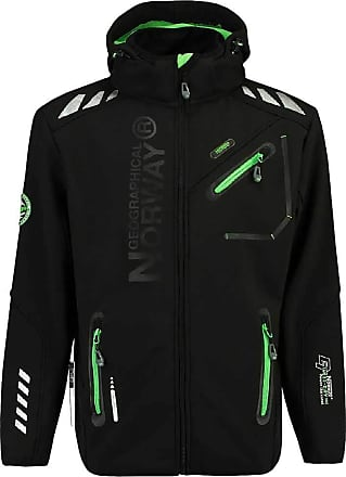 Geographical Norway Rainman mens soft shell jacket outdoor functional jacket S - XXL - black - X-Large