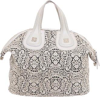 Givenchy gebraucht - Givenchy-Nightingale Medium aus Leder in Beige - Handtasche - Damen - Leder