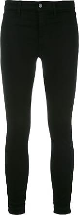 J Brand Calça jeans skinny cropped - Preto