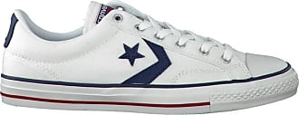 Converse Witte Converse Sneakers Star Player Ox Heren
