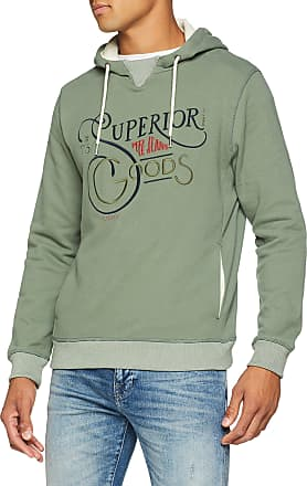 Pepe Jeans London Mens Sane Sweatshirt, Green (Forest Khaki 771), X-Large