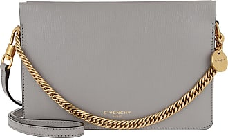 Givenchy Two-Toned Cross3 Bag Leather/Suede Grey Pale Pink Umhängetasche grau