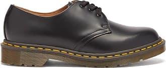 Comme Des Garçons Comme Des Garçons Comme Des Garçons - X Dr Martens 1461 Leather Derby Shoes - Womens - Black