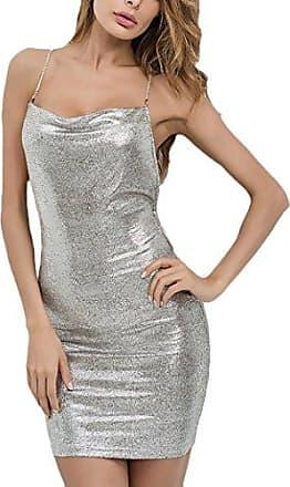 ba27975952 Saoye Fashion Abendkleider Damen Kurz Elegant Ärmellos Neckholder  Schulterfrei Slim Fit Paket Mädchen Kleidung Hüfte Vintage