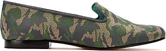Blue Bird Shoes Loafer Camuflado jacquard - Verde