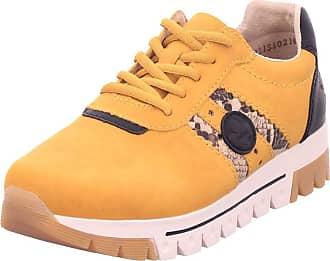 Rieker Womens L2922 Sneaker, Honig Natur Black, 3.5