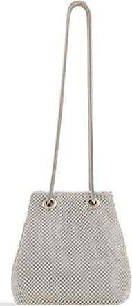 LeahWard Women/'s Diamante Clutch Bags Bucket Shoulder Handbags Wedding Party Bag