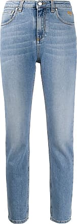 Msgm high-rise skinny jeans - Blue