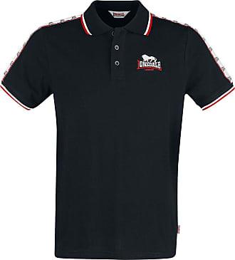 Lonsdale Mens Hunstanton Polo Shirt, Black, XXX-Large