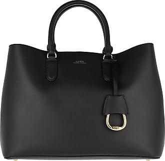 Lauren Ralph Lauren Satchel Bags - Marcy Satchel Large Black/Red - black - Satchel Bags for ladies