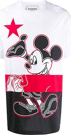 Iceberg Mickey Mouse jersey T-shirt - White