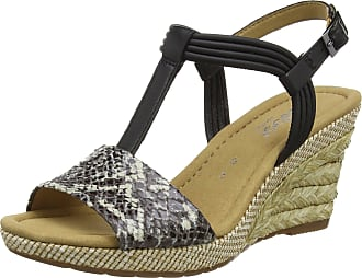 6fb8a7f1f63 Gabor Shoes Womens Comfort Wedge Heels Sandals