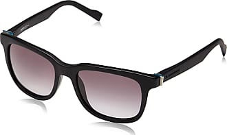 BOSS Mens BO 0127/S N6 T7O 52 Sunglasses, Matte Black/Grey Sf