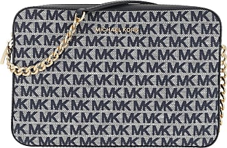 Michael Kors Cross Body Bags - Jet Set LG Crossbody Bag Ivory Multi - blue - Cross Body Bags for ladies