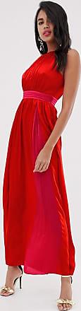 Little Mistress sleeveless maxi dress-Red